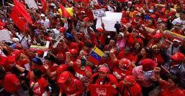 La movilización fue convocada para las 10H00 (hora local) en Caracas, capital venezolana.