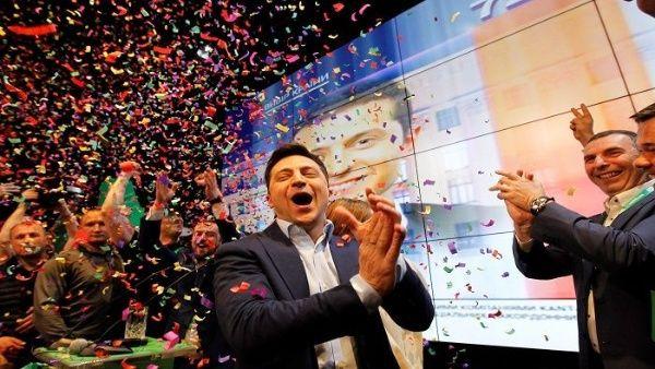Zelenski beat his opponent Poroshenko with a big advantage.