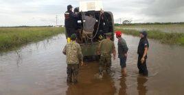Las inundaciones registradas en Argentina han dejado hasta el momento dos muertos y miles de evacuados.