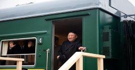 El presidente norcoreano partió el pasado martes de su país rumbo a Rusia.
