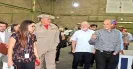El representante de la FAO y autoridades venezolanas visitaron los centros donde se empaquetan los alimentos que luego se distribuyen a la población.