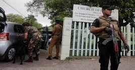 La Policía de Sri Lanka indicó que continúan en la búsqueda de sospechosos de los atentados del pasado domingo.