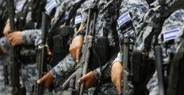 Cinco elementos de seguridad salvadoreños fueron asesinados el domingo.