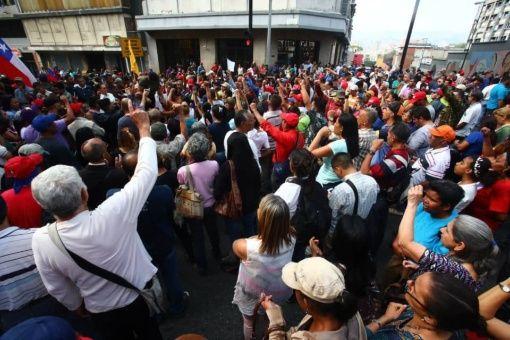 Resultado de imagen para golpé en venezuela 30 de abril miraflores