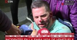 La Policía Metropolitana decidió atacar a las simpatizantes del chavismo.
