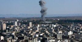 Israel bombardeó este jueves posiciones de Hamás en la Franja de Gaza.