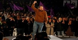 Pablo Iglesias condenó las futuras reuniones de Pedro Sánchez con los líderes del Partido Popular y Ciudadanos.