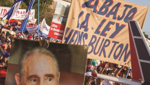 EE.UU. fortalece bloqueo económico y comercial contra Cuba.