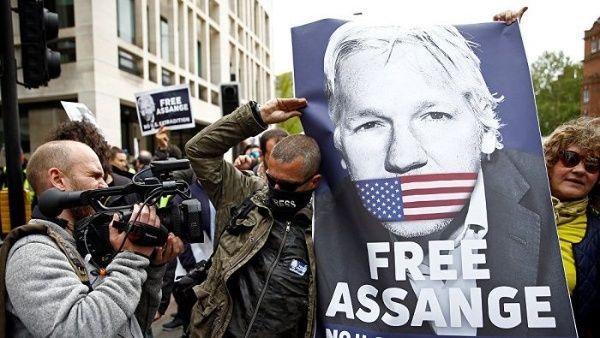 Resultado de imagen para assange onu