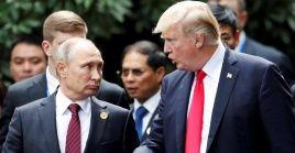 """""""Él no está pensando en absoluto en intervenir en Venezuela, más allá de que quiere ver que ocurra algo positivo en el país. Y yo siento lo mismo"""", sostuvo Trump."""