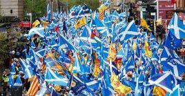 Según sondeos recientes la independencia cuenta actualmente con el apoyo del 49 por ciento de los escoceses.