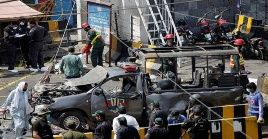 Las autoridades pakistaníes indicaron que la cifra de fallecidos podría aumentar en las próximas horas.