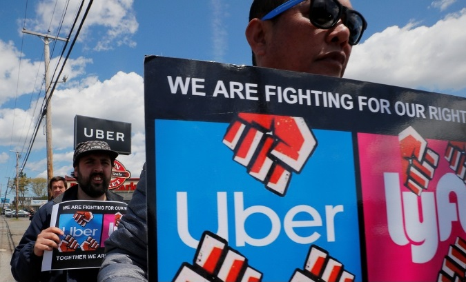 Uber and Lyft Drivers Strike for Better Working Conditions