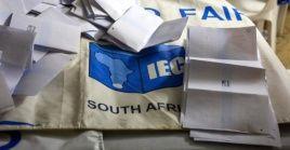 Los sudafricanos expresaron en su voto su frustración por la corrupción.
