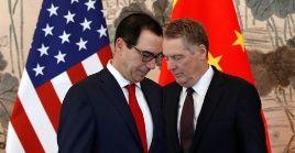 China y EE.UU. sostenían negociaciones en el marco de la guerra comercial.