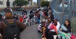 """Entre los 180 connacionales que se encuentran en Perú hay """"54 niños y niñas, 35 adultos y adultas mayores, 7 embarazadas y 8 personas con diagnósticos graves""""."""