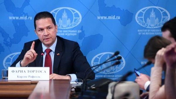 """Embajador de Venezuela en Rusia: """"Encontramos la forma de eludir las sanciones de EE.UU."""""""
