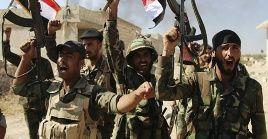 Las tropas sirias, con respaldo ruso, han ido arrinconando a los extremistas.