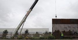 Un juez federal estadounidense ordenó suspender la reasignación de fondos para construir el muro en frontera con México.