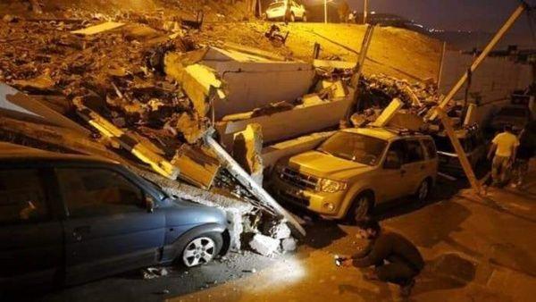 Suman dos los fallecidos por gran sismo en Perú