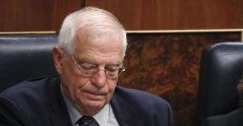"""""""Nuestro viejo enemigo, Rusia, vuelve a decir aquí estoy yo, y vuelve a ser una amenaza, y China aparece como un rival"""", afirmó Borrell."""