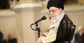 """""""No negociaremos con EE.UU. porque la negociación no tiene beneficios y conlleva daños"""", sostuvo el máximo dirigente iraní."""