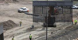 Juez rechaza petición de gobierno de Estados Unidos de continuar la construcción de muro fronterizo.