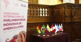 El evento abordará las situaciones políticas y representación de los pueblos indígenas en las instituciones del Estado.