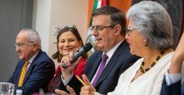 México reiteró el lunes a EE.UU. si disposición al diálogo para resolver el fenómeno de la migración ilegal.
