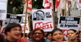 Entes de derechos humanos deploraron la visita de Bolsonaro tras aseverar que es promotor de odio.
