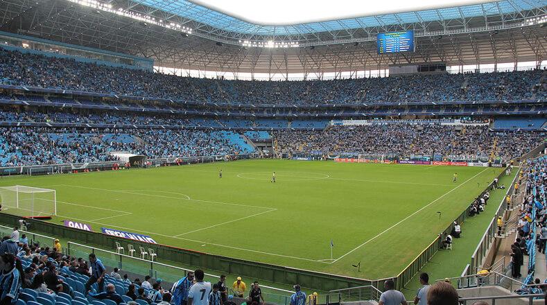 Localizado en la ciudad de Porto Alegre, será la sede de cuatro partidos más el de la semifinal, con capacidad para 55.622 espectadores.