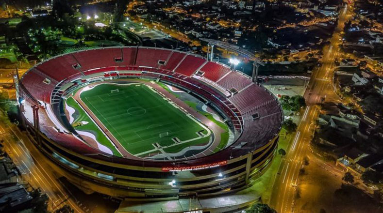 Pese a ser el tercer estadio más grande del país (y uno de los más populares), Morumbí no fue sede de ningún partido del Mundial de Brasil 2014, tras ser excluido por la FIFA al no tener los recursos necesarios para su remodelación.