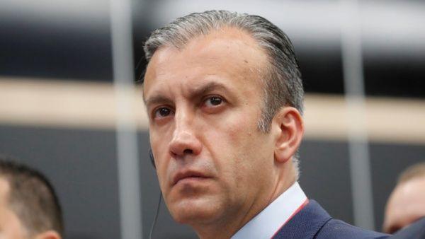 El vicepresidente de Venezuela, Tareck El Aissami, asiste al Foro Económico Internacional de San Petersburgo.