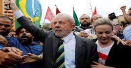 Lula da Silva se encuentra detenido tras el juicio por corrupción en la causa Lava Jato.