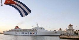 El Crucero de la Paz fue impedido de atracar en Cuba por la Ley Helms-Burton.
