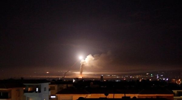 Israel Bombs Syrian Army in Southern Syria