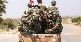 El Ejército sirio continúa su avanzada contra los grupos terroristas.