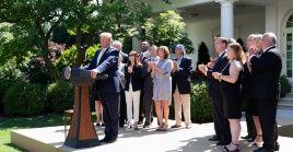 El presidente estadounidense Donald Trump inicia su campaña en busca de la reelección.