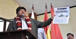"""""""El pueblo ahora participa, antes las políticas llegaban de arriba y de afuera, nunca los bolivianos decidíamos leyes"""", indicó el mandatario."""