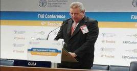 El ministro Rodríguez agradeció a las naciones que expresaron su solidaridad ante las agresiones contra Cuba.