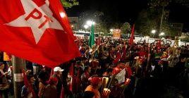 La campaña por la liberación de Lula da Silva se despliega en manifestaciones organizadas por sectores populares del país.