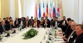 Representantes de países miembros del INSTEX se reunieron éste viernes, en Viena, Austria.