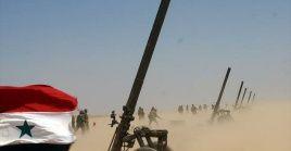 Las fuerzas gubernamentales adelantan una nueva ofensiva antiterrorista en el eje Hama-Idlib.