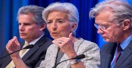 David Lipton (izquierda) será el presidente interino del FMI y es conocido por su inflexibilidad a la hora de negociar préstamos con países.