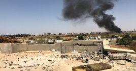 Tajoura, al este de Trípoli, contiene varias bases militares de fuerzas aliadas al Gobierno.
