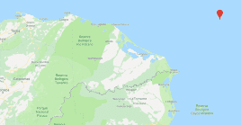 El naufragio ocurrió mar adentro, en el límite entre Honduras y Nicaragua.