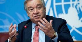 Guterres aclaró en rueda de prensa que no tiene programada una reunión con el opositor del país sudamericano.
