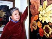 """Guayasamín llamó a su obra: """"una pintura de denuncia, de mucha fuerza, de contenido""""."""