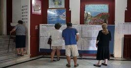 Más de 9.5 millones de griegos están llamados a votar este domingo en Grecia.