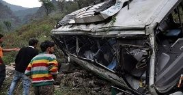 India es uno de los países que presenta la tasa más alta de accidentes viales por el mal estado de sus carreteras.